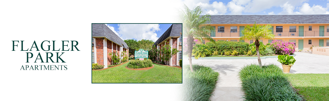 Flagler Park Apartments entrance and exterior
