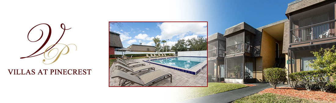 Villas at Pinecrest Apartments exterior and pool